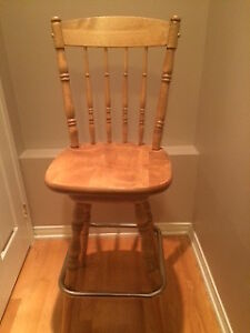 Solid Wood Deluxe Hand made bar stool