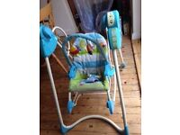 Fisher Price Smart Stages 3-in-1 Swing, Seat and Rocker