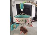 Skip Hop Baby Cot Musical Alphabet Zoo Mobile