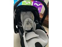 Kiddy Evo Luna isize Group 0 Baby car seat purchased new October 2016
