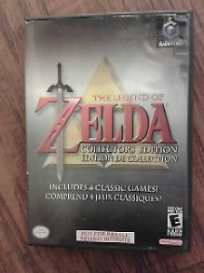 zelda collector's edition game cube