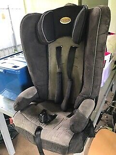 Secure booster seat