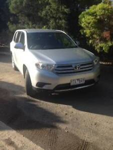 2011 Toyota Kluger Wagon Narre Warren North Casey Area Preview