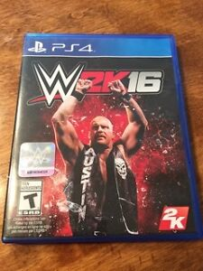 PS4 WWE 2K16 Sony Playstation Video Game Mint Condition