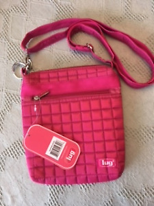 "new ""LUG""  SHOULDER BAG / PURSE - cross body"