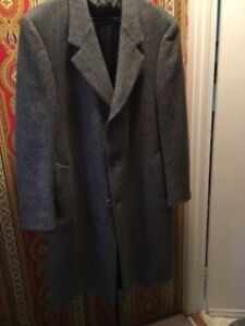 A. Gold & Sons Gray Wool Coat Size 44 - Excellent Condition West Island Greater Montréal image 2