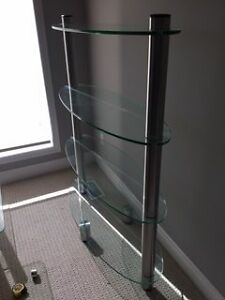 Beautiful Glass Shelving Unit Windsor Region Ontario image 2