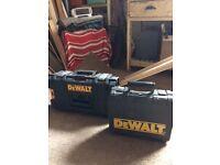 DeWalt empty case