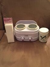 BRAND NEW NEVER USED BEAUTYPRO WAX EXPERT TWIN POT HEATER Hornsby Hornsby Area Preview