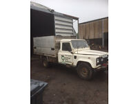 land rover 130 tipper for sale