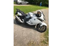 BMW K1300S pearlescent light grey and fully sorted