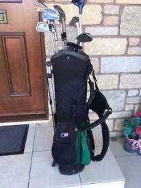Junior Golf Clubs - Mixed Set with Bag