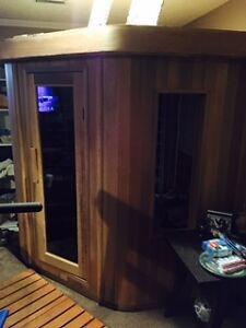 Indoor/Outdoor Sauna - Infrared - 4 Persons