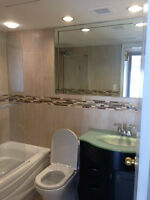 Modern large 3 1/2 Condo Renovated Heat/AC incl,Park Avail Must