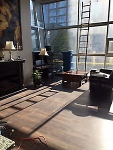 X-Large One Bedroom Double Height Loft with 16' Ceilings