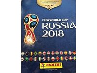 Panini World Cup Sticker book swap (Fifa World Cup Russia 2018)