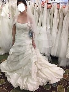 New Maggie Sottero wedding dress, size 12, not altered