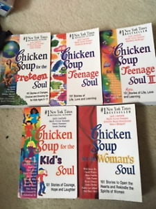 Chicken Soup for the Soul - 5 books