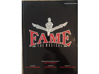 Fame The Musical - Vocal Score Book