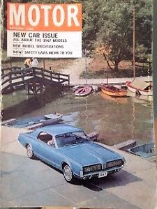 Motor Magazine from 1966 - 4 editions