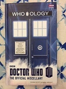 Doctor Who Book - The Official Miscellany - Who ology