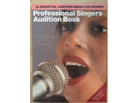 Professional Singers Audition Book - Full Vocal Score book