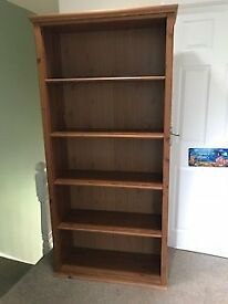 Dark Wooden IKEA Bookcase