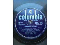African Columbia, De Wayon Esengo series, 78 rpm shellac, 1960, Made in England.