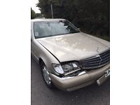 S class 280 S in exceptionaly good condition until collision on front right side. . ..