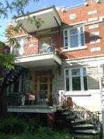 Appartement 6 1/2 près du cinéma Beaubien/parc Molson