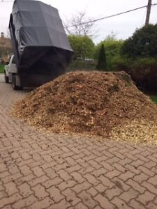 FREE LOAD OF WOOD CHIPS/ MULCH FOR DELIVERY, OAKVILLE ONLY