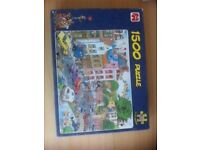 Friday The 13th - by Jan Van Haasteren - 1500 piece jigsaw puzzle