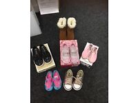 Size 7 toddler shoes . Michael Kors ,Converse, Lelli Kelly and Nike