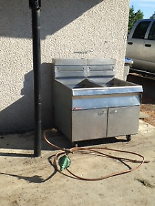 Deep Fryers, propane and gas