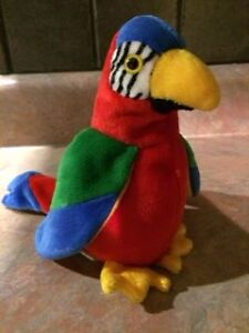 Ty Beanie Baby - Jabber the Parrot
