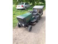 acto 830 ride on tractor/lawnmower