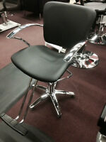 Salon furniture Sale unto 70% off, styling chairs, nail tables
