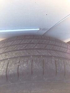 4 tires and rims and sensors 225/65R16