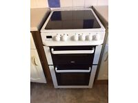 Zanussi electric cooker with hob and grill