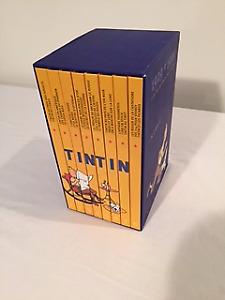 """Coffret """"Les aventures de Tintin 1929-1999"""""""