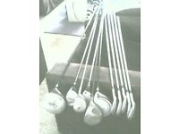 Golf clubs assorted