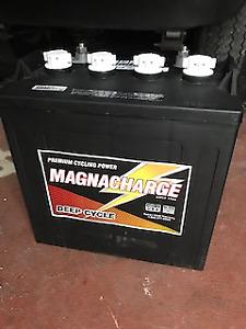 Magnacharge 8 Volt Golf Cart Batteries 1 Year Warranty