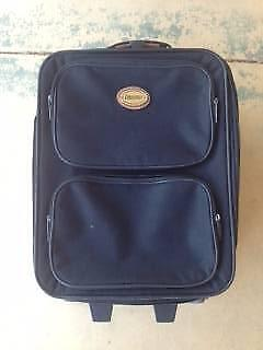 CARRY ON LUGGAGE TROLLY / SUITCASE - Great Condition