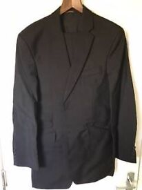 Mens Richard James Full Suit Tailored Made In Black For Sale