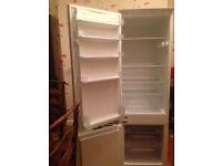 Neff integrated fridge freezer, 178cms x 53 cms x 54 cms. Very good condition