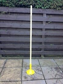 Football / Rugby Slalom Training Poles & Bases