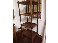 Laura Ashley wooden 4 Shelf Display Unit