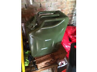 20 litre Jerry Can unused