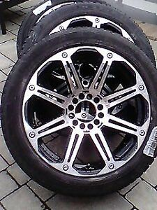 "SET of American Racing CHROME 20"" RIMS, with Pirelli Tires"