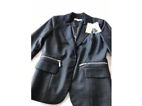Ladies Michael Kors jacket in slate grey. UK size 8. New, never worn